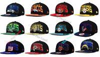 New NFL  All Colors New Era 9FIFTY Snapback Cap Hat