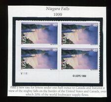 (1999) C133 48¢ - Niagara Falls - MNH unused plate block