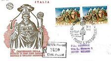 ITALIA REP. - 1972 - IX° centenario della morte di San Pier Damiani su Filagrano