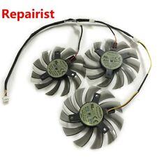 Cooler Fan For Gigabyte R9-280X GV-R928XWF3-3GD GV-R928XOC 3Pcs/lot 3Pin