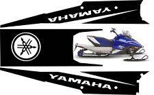 YAMAHA SNOSCOOT TUNNEL GRAPHICS wrap decals sticker ES 200 kids sled 2018 2019 6