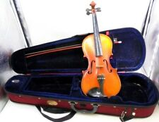 3/4 Violin and Bow in 4/4 Full Size Case . DAFB266JA