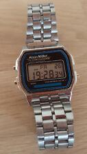 Alain Miller Retro Vintage  Digital Unisex Armbanduhr Watch / Silberfarbend D01