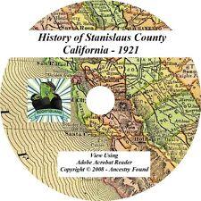 1921 History & Genealogy Stanislaus County California