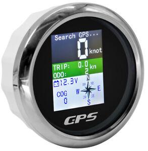 85mm Universal Lastwagen Boot Auto Wasserdicht LED GPS Tacho Odometer Voltmeters