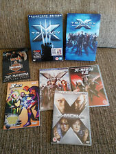 X-MEN + X-MEN 2 + THE LAST STAND + COMIC Trilogy Collectors Ed - 6 X DVD ENGLISH
