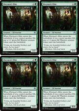 4x DWYNEN'S ELITE Magic Origins MTG Green Creature — Elf Warrior Unc