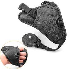 Triangle Leather Hand Grip Strap Universal f Nikon D5000 D700 D300 D800 D90 D80