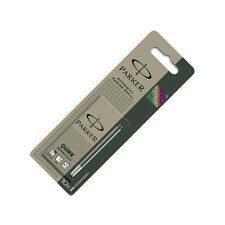 Parker Quink Ink Cartridges - Black Washable 10 Pack