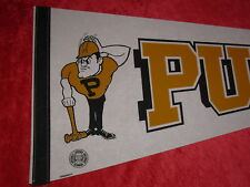Vintage Purdue Boilermakers College Full Size 30 Inch Pennant