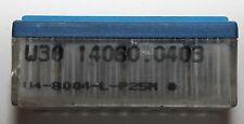 4 Schneidplatten Wendeplatten KOMET W30 14060.0403, U4-8004-L-P25M, WDKHK002
