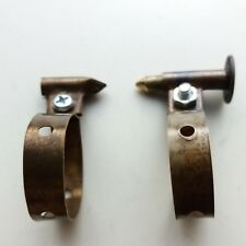 Copper Pump Clips Frame For Vintage Bicycle Raleigh BSA Robinhood Rudge