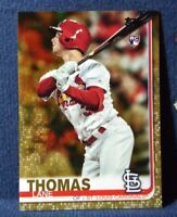 2019 Topps Update #US227 Lane Thomas RC Gold Parallel #d /2019 Cardinals Rookie