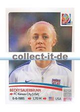 Panini Frauen WM World Cup 2015  - Sticker 259 - Becky Sauerbrunn