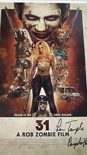 "31: A Rob Zombie Film 11""x17"" Lithograph signed by Lew Temple!"