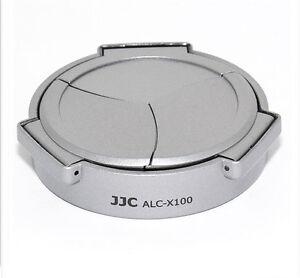 UK Store! CameraPlus® ALC-X100S Auto Lens Cap for Fujifilm X100 /X100s (Silver)