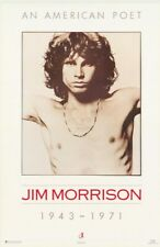 The Doors Poster Jim Morrison 1943-1971 An American Poet