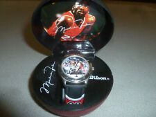 Vintage 1990S Michael Air Jordan Wilson Watch Ball Case Bulls Nba Basketball 23
