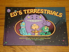 ED'S TERRESTRIALS HARDBACK GRAPHIC NOVEL ALIAS SAVA JOURDAN 9781933428642