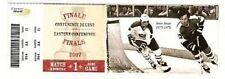 Steve Shutt Reg Leach Stanley Cup Playoff HOCKEY Ticket