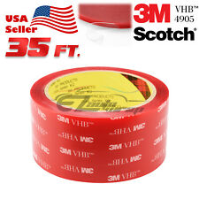 Genuine 3M VHB #4905 Double-Sided Mounting Foam Tape Automotive Car 50mm x 35FT