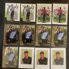 New listing 2001 2002 2003 2004 Upper Deck golf Tiger Woods lot of 735 SP authentic tales +