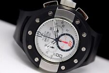 Invicta F0044 S1 Rally Swiss Chronograph Sliver 52mm 100m Mens Racing Watch