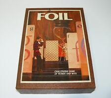 FOIL - VINTAGE 3M BOOKSHELF WORD & WITS GAME 1968 COMPLETE