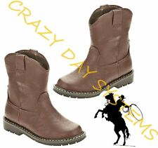 Garanimals CowBoy Boots Western Faux Leather 2 Infant- 6T Toddler Boys NEW