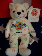 HRC Hard Rock Cafe Kona Hawaii Peace Beara Bear Bär Series Herrington