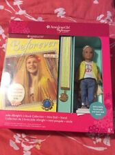 NEW American Girl Mini Doll And 3 Books Box Set Julie Albright 1974 Beforever