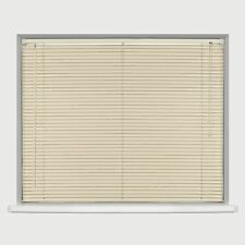 PVC Blinds Venetian Window Blind Easy Fit All Sizes Wooden Effect Home Office