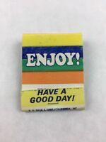 Vintage King Edward Cigars Promotional Matchbook Enjoy