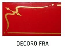 Decorazione dorata tipo FRA per affettatrici a volano mm 250/300/350/370 Fac