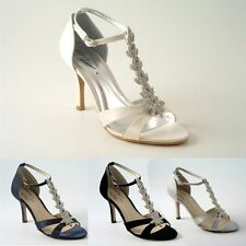 Unbranded Women's Satin Stiletto Mid Heel (1.5-3 in.) Shoes