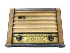 Radio PHILIPS S195A Original Vaccum Tube Vintage 1947 Working PERFECT Like New