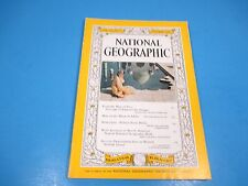 National Geographic Magazine October 1960, India Idaho Craters Rotterdam