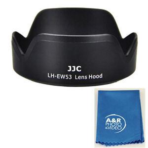 JJC LH-EW53 Lens Hood for Canon EF-M 15-45mm f/3.5-6.3 IS STM 15-45 EW-53 + Kit