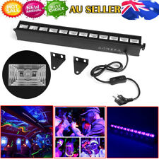 12LED UV Black Light Bar Super Bright Stage Light DJ Party Club Home Decor New