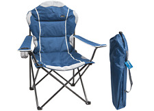Summit Berkley Cushiopned  Relaxer High Back Chair - Blue