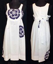HACHE White Net-a-Porter Shopbop Tank Apron Batik Dress MADE IN ITALY M 6 44