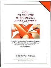 FOLLETO de metal desnudo - - sobre cómo utilizar Lapicero con panel de metal desnudo en coches modelo # Bmbo
