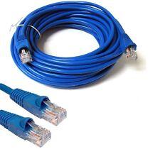 2m Cat5e RJ45 Cable De Red Ethernet LAN Módem Router de Internet ADSL Parche De Plomo