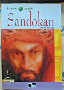 SANDOKAN senza Cd LEVEL STARTER A1 - EMILIO SALGARI - GREEN APPLE CIDEB