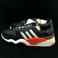 Adidas Originals by Alexander Wang AW Turnout Trainer Black White Orange -AQ1237