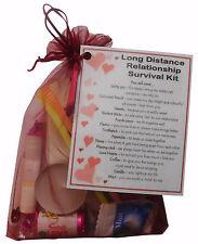 Long Distance Relationship Survival Kit Gift  - Girlfriend Gift, Boyfriend Gift