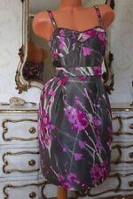 S6 PRINCIPLES 100%pure silk ladies evening party dress size 14