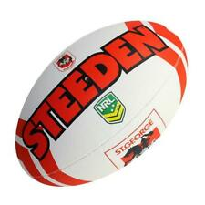 Steeden NRL Dragons Supporter Ball - Size 5 - Rugby League Football