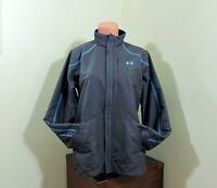 Under Armour Fleece Lined Waterproof Jacket Men's Size Med Worn 1X