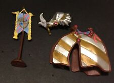 Lot of Breyer Stablemate Model Horse Accessories for Medieval Fantasy Play Set